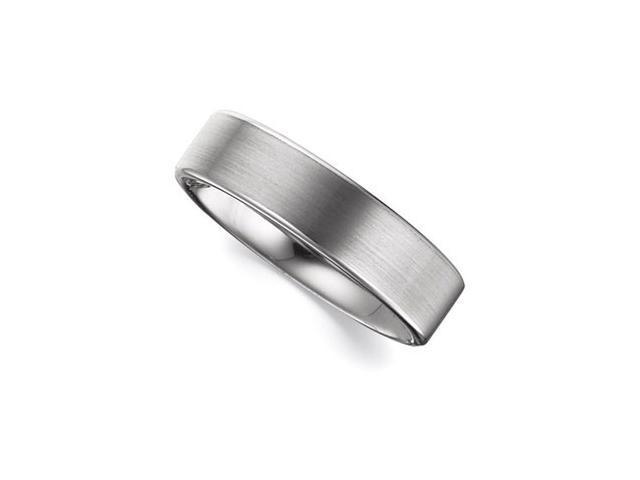 6.3MM Dura Tungsten Flat Satin Band  Size 9.5
