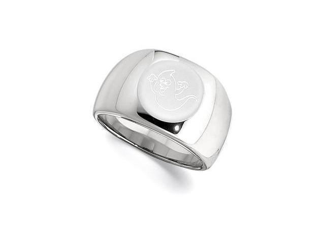Dura Tungsten Signet Ring Size 12