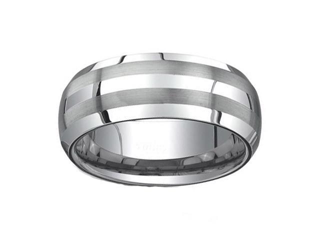 Tungsten Carbide Ring 8MM size 8.5