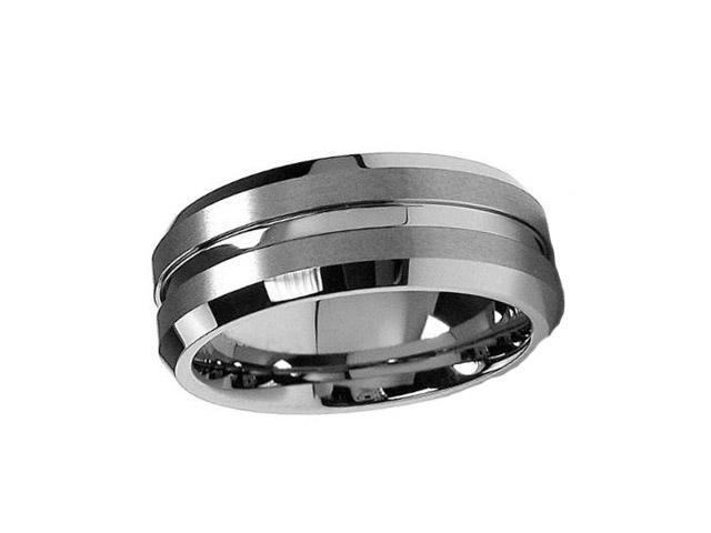 Tungsten Carbide Ring 7MM size 9.5