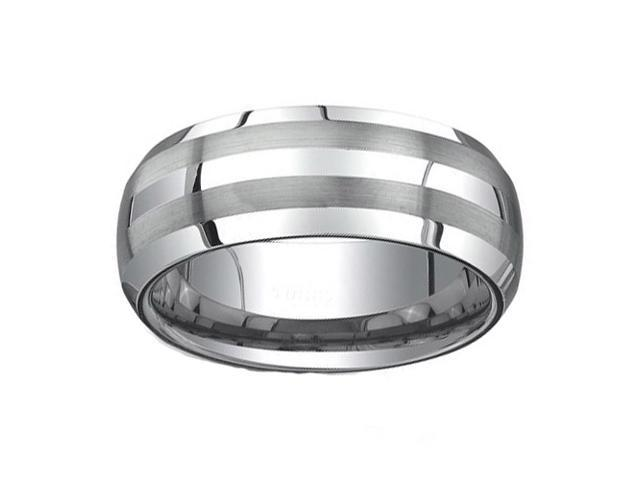 Tungsten Carbide Ring 8MM size 10