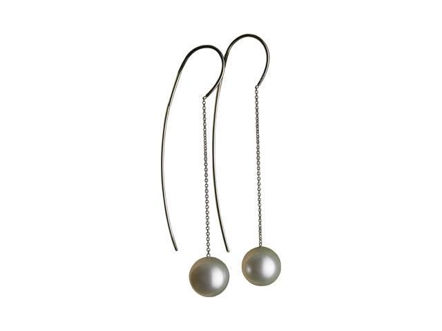 18K Yellow Gold South Sea Cultured Pearl Earring