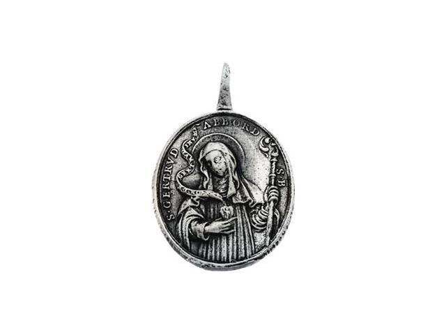 CleverSilver's 14K Yellow Gold Strose Of Lima And Stgertrude Pendant This Item Is Approximate15.6