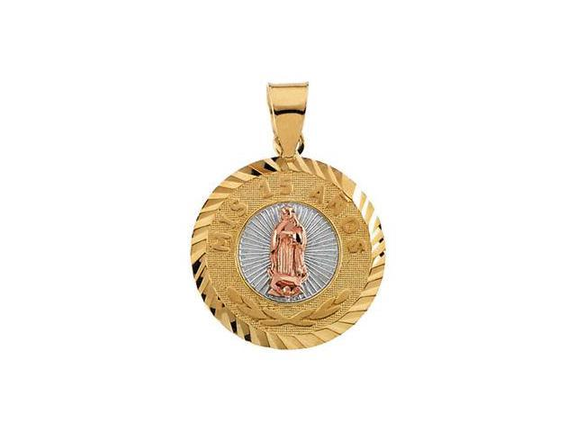 Tricolor Round Mis 15 Anos (My 15Th Birthday) Medal