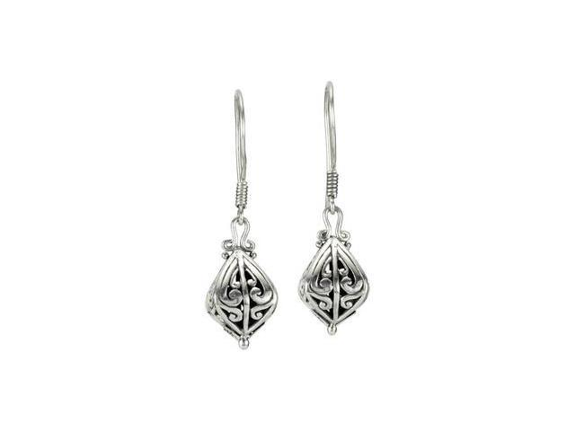 Sterling Silver Fashion Earrings With Dangle