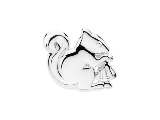 Sterling Silver The Trusting Squirrel Brooch 2 0. 7 5X 2 4. 5 0 Mm