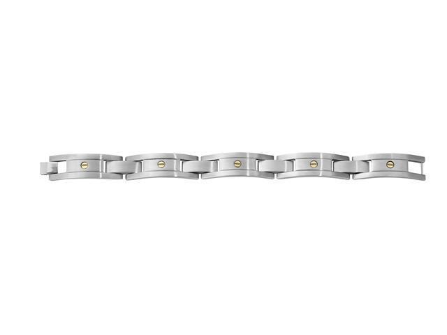 CleverSilvers Bracelet With 14Ky Screws