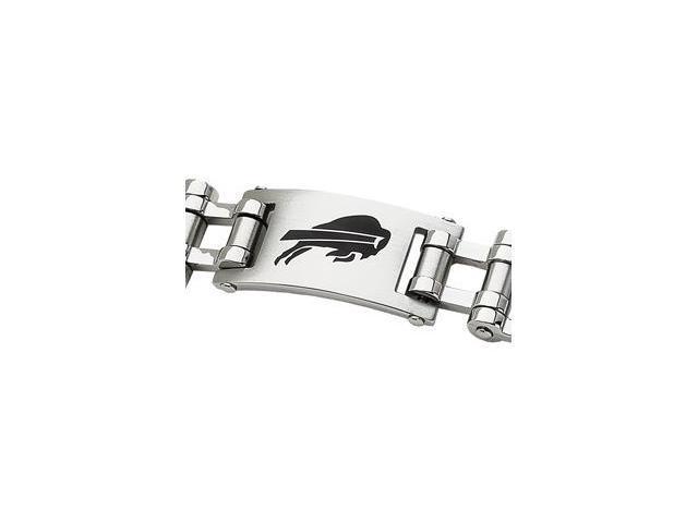 Clevereve's Stainless Steel Buffalo Bills Team Logo Bracelet
