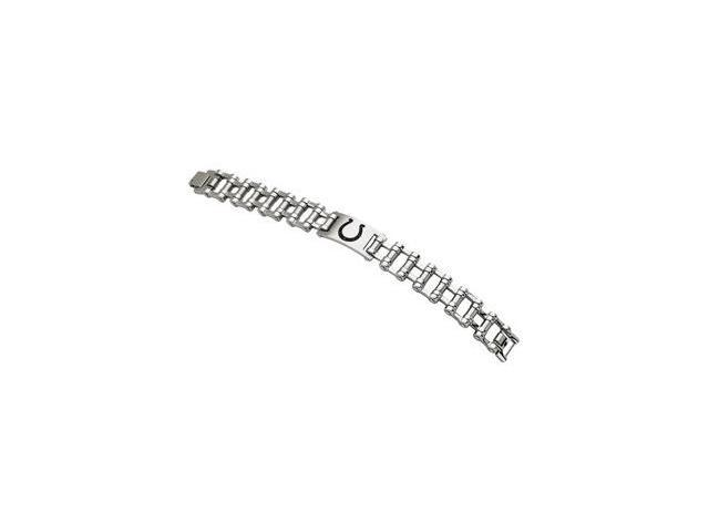 Clevereve's Stainless Steel Indianapolis Colts Team Logo Bracelet