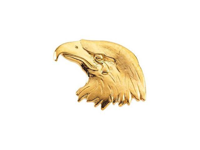 CleverSilver's 14K White Gold Eagle Lapel Pin1. 5 0X 2 6. 0 0 Mm
