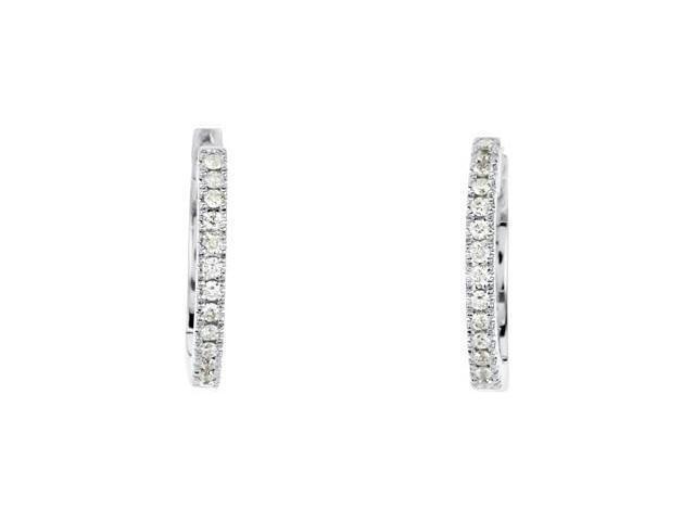 Color Fashion Hinged Diamond Hoop Earrings For Dangle