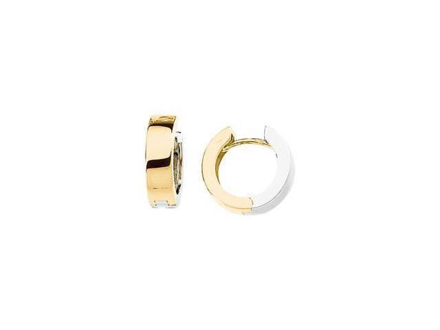 Two Tone Hinged Earring