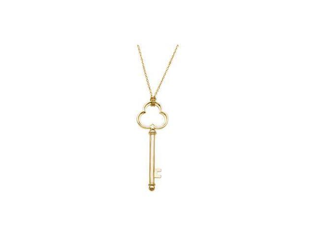 CleverEve's Metal Fashion Key Pendant Sterling Silver Pendant