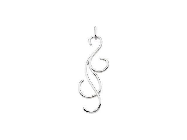 CleverEve's Metal Fashion Pendant Sterling Silver Pendant