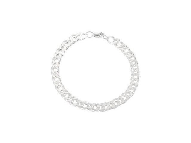 CleverEve's Curb Chain Sterling Silver 09.00 Inches