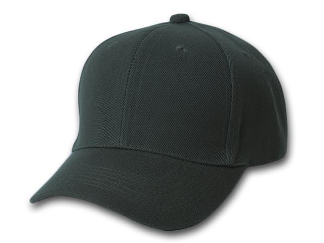 Plain Blank Baseball Adjustable Velcro Hat