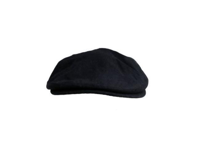 Black wool Ivy Driver Newsboy Caps