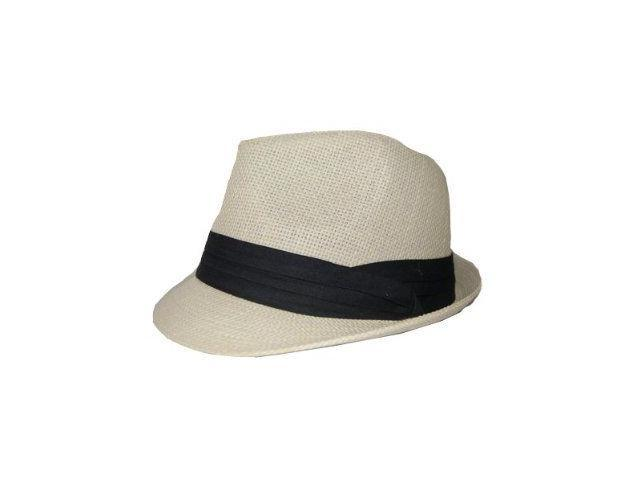 Classic Tweed Structured Fedora Hat