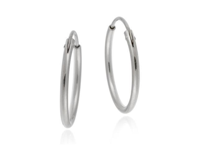 Sterling Silver Hoops/ Hoop Earrings