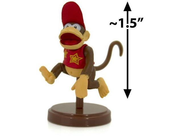"Diddy Kong ~1.5"" Mini Figure [Super Mario Choco Egg Mini-Figure Selection Series"