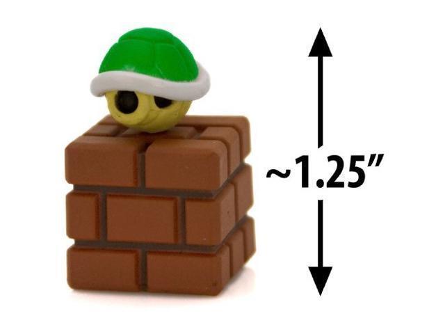 Green Koopa Shell on a Brick Block ~1.25