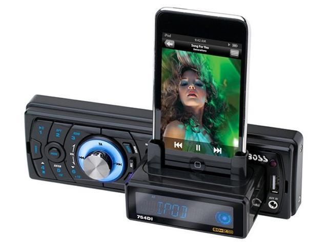 BOSS 754DI In Dash iPod/USB/MP3 Player Car Stereo+Aux