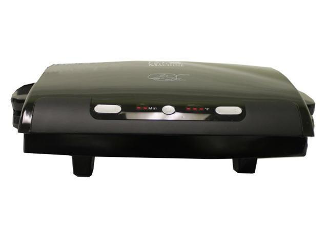 George Foreman GRP99BLK 100 Sq. Inch Electric Cooking Grill Non Stick - Black