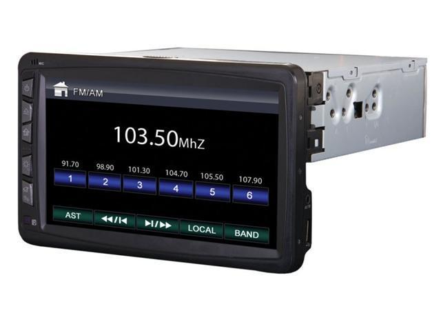 Power Acoustik PD-712B 1- DIN In-Dash 7
