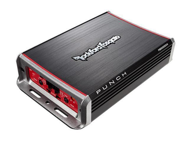 Rockford Fosgate PBR300X4 300 Watt 4-Channel Amplifier for Compact Sub Systems