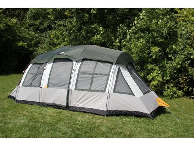Tahoe Gear Prescott 10 Person 3-Season Family Cabin Tent