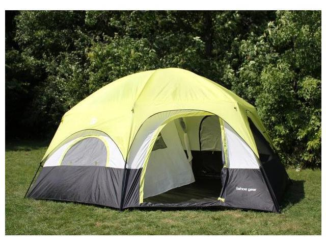 Tahoe Gear Coronado 12 Person Dome 3-Season Family Cabin Tent
