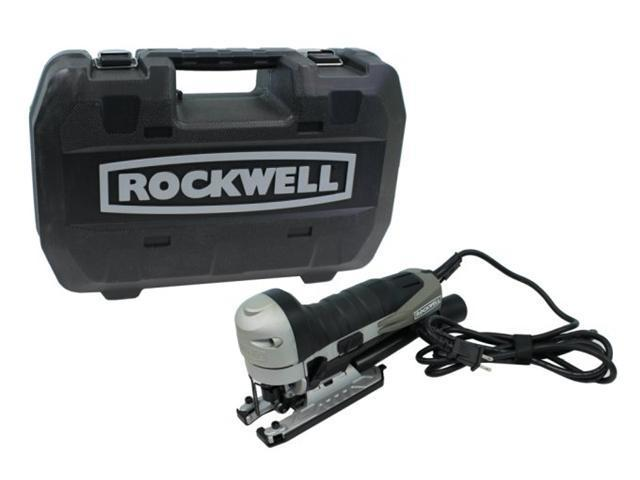 ROCKWELL Contour RK3734K Corded Electric Compact 5 Amp Jigsaw & Jigsaw Kit