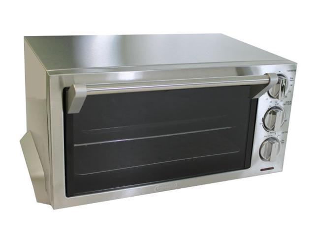 DeLonghi EO1260 1400W 0.5 cu. ft 6 Slice Toaster/Oven w/Broiler Non ...