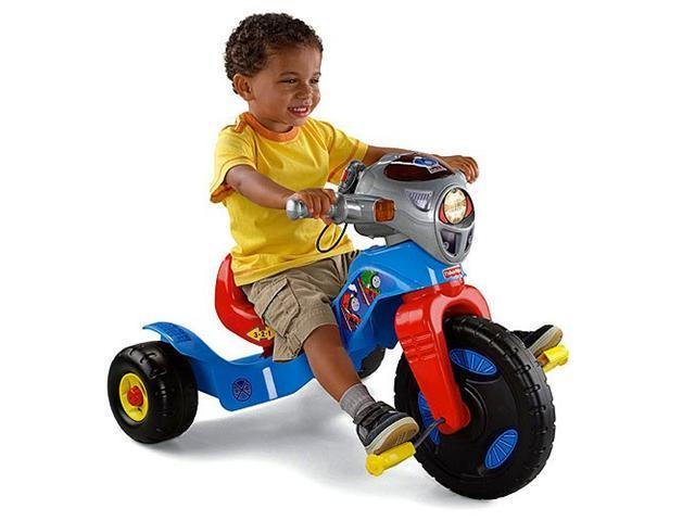 Fisher Price Thomas The Train Lights & Sounds Kids Trike/Tricycle | W6138