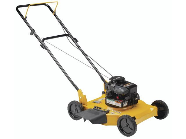"""Poulan Pro PR450N20S 20"""" 148cc 2-In-1 Push Grass Lawn Mower Side Discharge"""