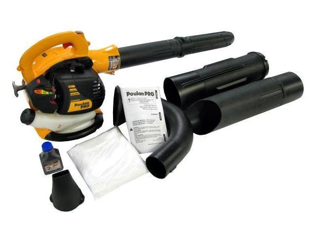 Poulan Pro BVM200VS 25CC Gas Leaf Blower Vacuum (Reconditioned)