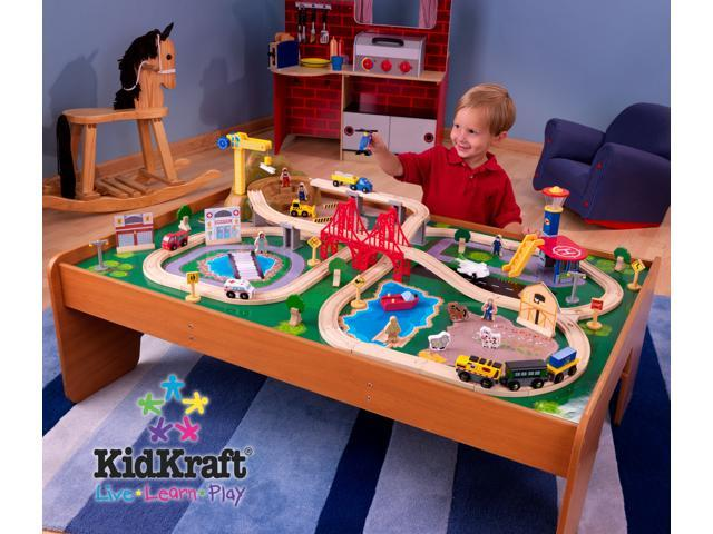 Kidkraft Ride Around Train Set And Table Review - Round Designs