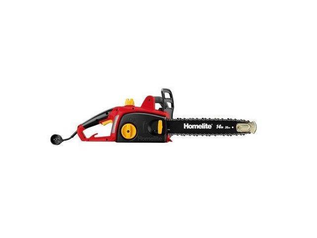 """HOMELITE 14"""" In. 9.0Amp Electric Chain Saw UT43100"""