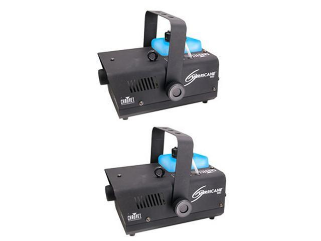 2 CHAUVET HURRICANE H-900 FOG/SMOKE MACHINE H900
