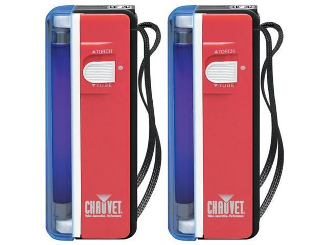 2 CHAUVET NV-F4 Handheld Blacklights Flashlights
