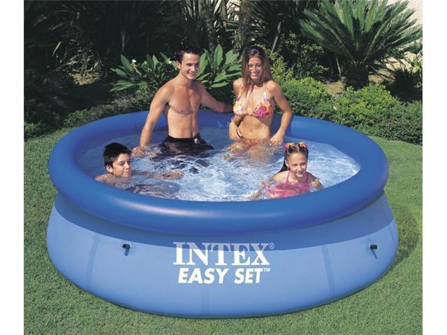 8ftx30in easy set pool intex recreation corp above ground for Intex gartenpool