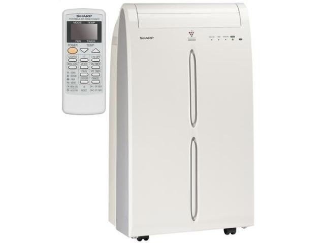 (REFURBISHED) SHARP 10000 BTU Portable Air Conditioner Ion AC 110V