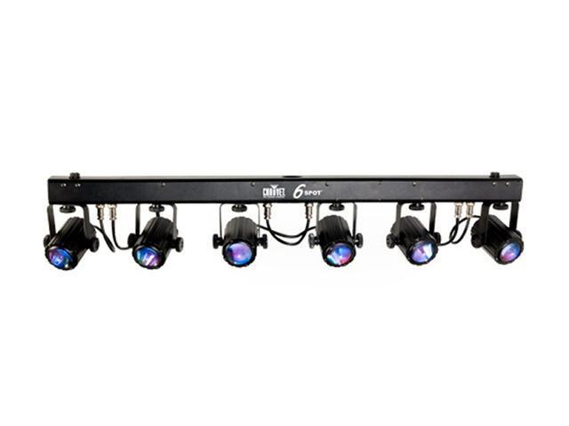 CHAUVET 6SPOT LED Dance Effect Stage Light Bar System