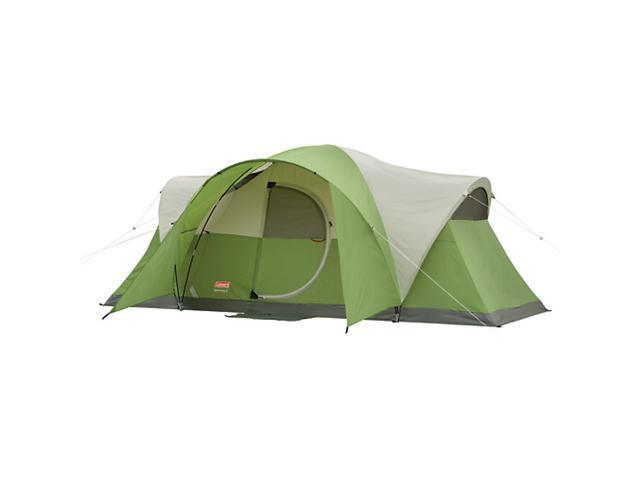 COLEMAN Montana 8 Person Family Camping Tent WeatherTec