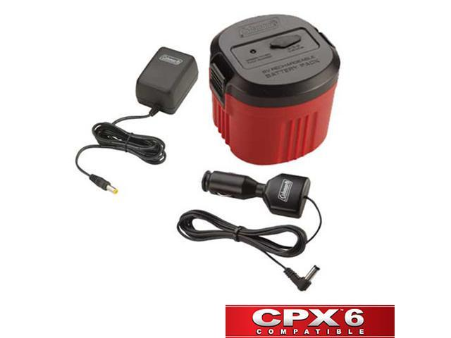 COLEMAN CPX6 Battery w/ Rechargeable Battery Pack XPS