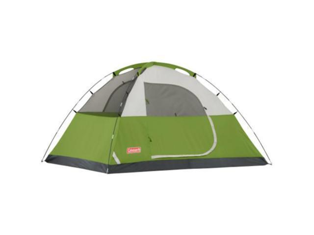 Coleman Sundome 4 Tent 9' x 7' Green/White/Grey 2000007827