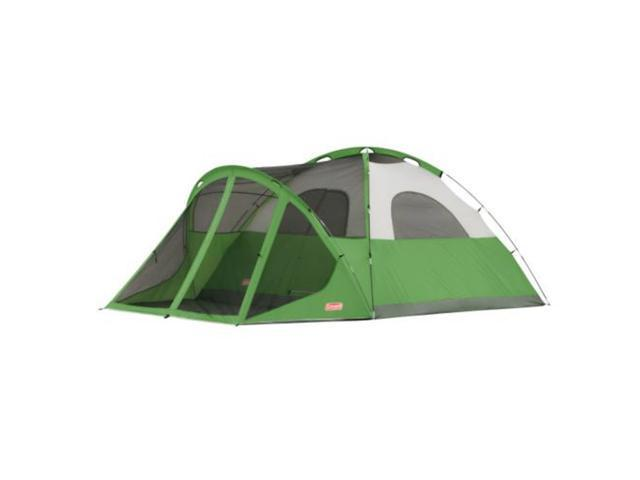 NEW! COLEMAN Camping Evanston 6 Person Screened Tent