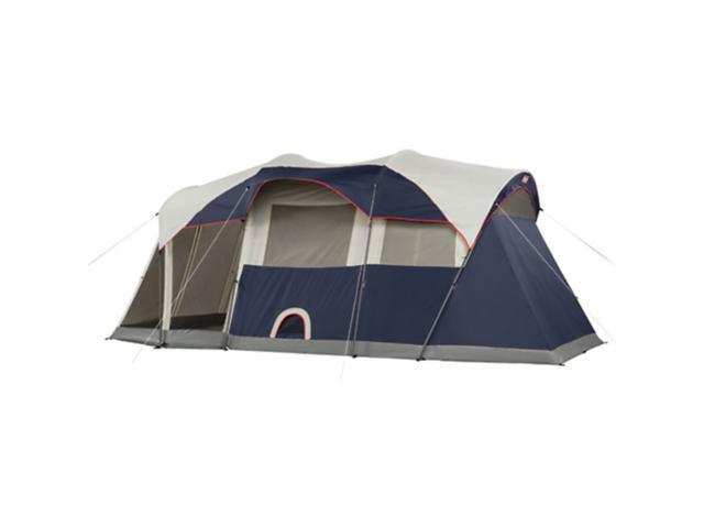 NEW COLEMAN WeatherMaster 6 Person 3 Room Screened Tent