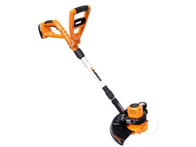 (Refurbished) Worx WG150 18V Grass Cordless Electric Trimmer/Edger (Worx WG150)