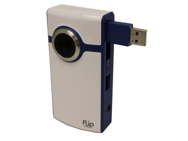 Flip Video U1120BL 4 GB Camcorder 640P Video Camera